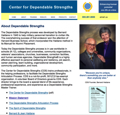 Center For Dependable Strengths
