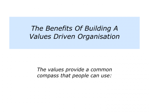Companion Slides Values Driven Organisation.002