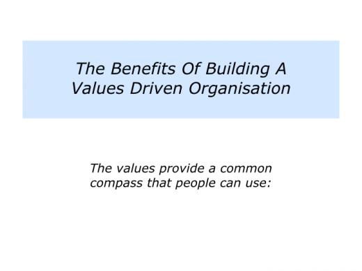 Companion Slides Values Driven Organisation.002