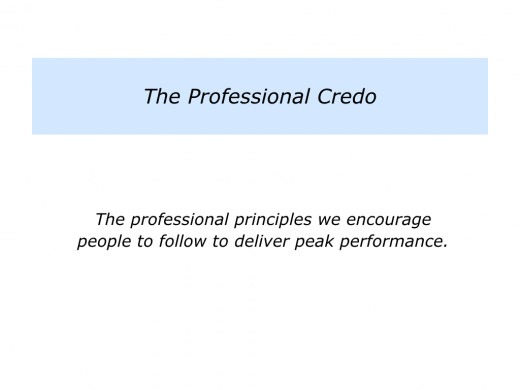 Slides Professional Credo.001