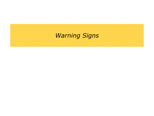 Slides Warning Signs.005