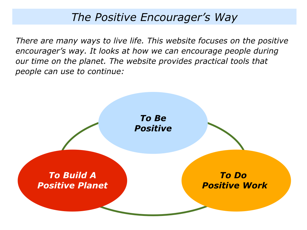 the positive encourager