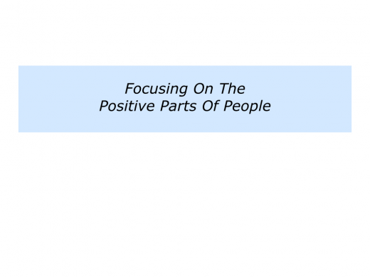 Slides P is for building on the positive parts of people, teams and organisations.003