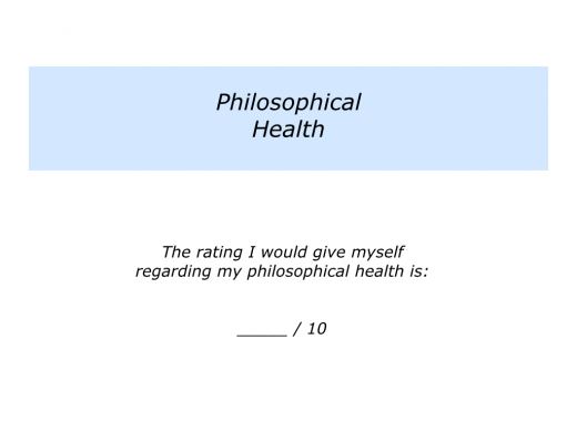 Slide P is for Physical, Psychological and Philosophical Health.006