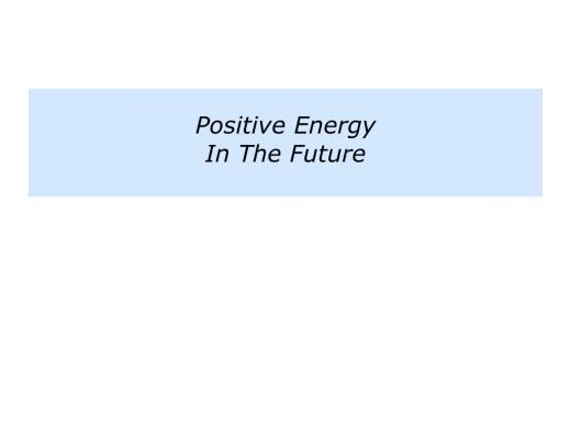 Slides Positive Energy.005