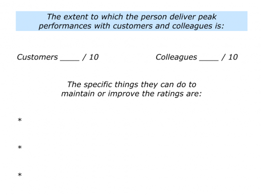 Slides People who are Positive, Professional and Peak Performers.007