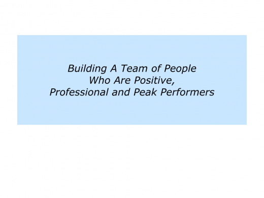 Slides People who are Positive, Professional and Peak Performers.008