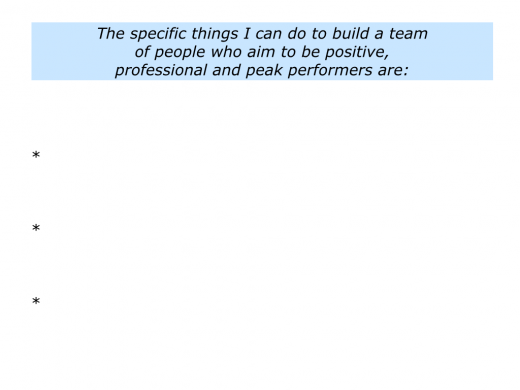 Slides People who are Positive, Professional and Peak Performers.009