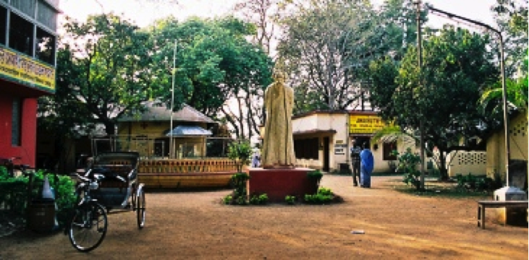T is for rabindranath tagore 39 s work the positive encourager for Shantiniketan tagore