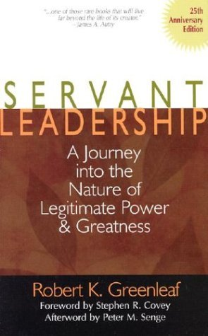 the servant as leader essay by robert greenleaf This video describes robert greenleaf's career, views, and his reading of some of his seminal essay, the servant as leader.