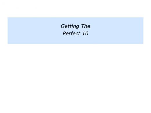 Slides Perfect 10.006