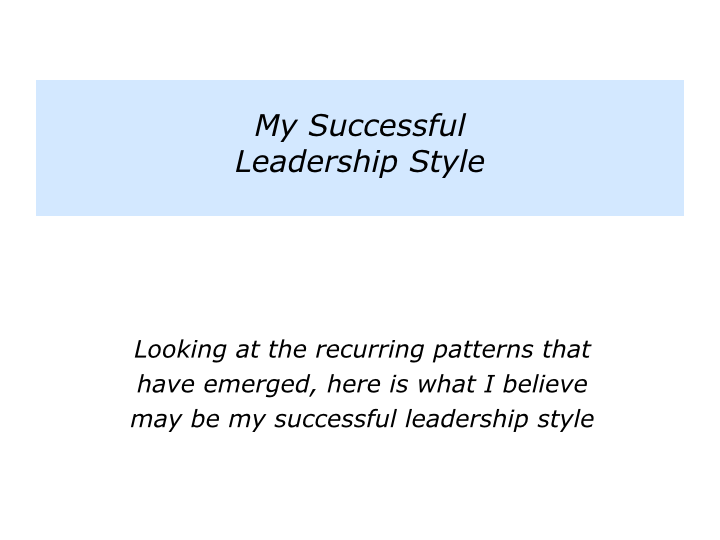 the typical profile for a successful leader and how to lead a successful revolution Here are the top 5 characteristics of some of the world's most successful political leaders top 5 qualities of good political leaders.