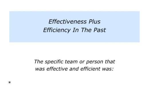 Slides E is for Effectiveness plus Efficiency.002
