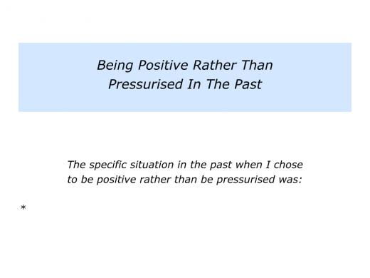 Slides Positive rather than Pressurised.002