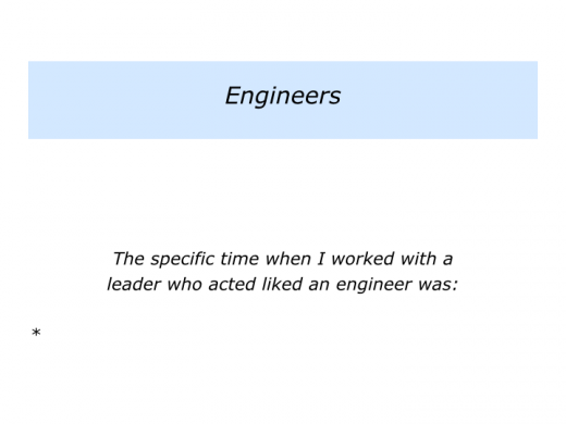 Slide E is for Leaders who are Entrepreneurs, Engineers or Entrepreneurs who are also Engineers.005