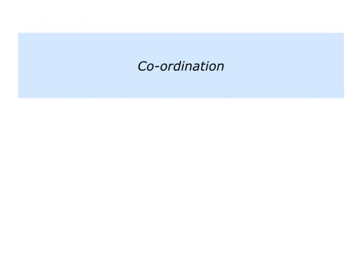 Slides Co-ordination.010