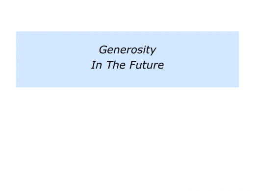 Slides G is for The Generosity Approach.005