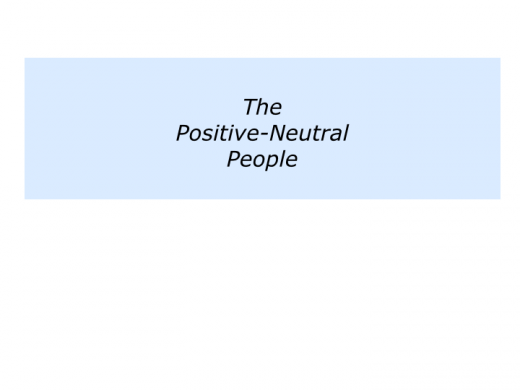 Slides building on the positive people.041