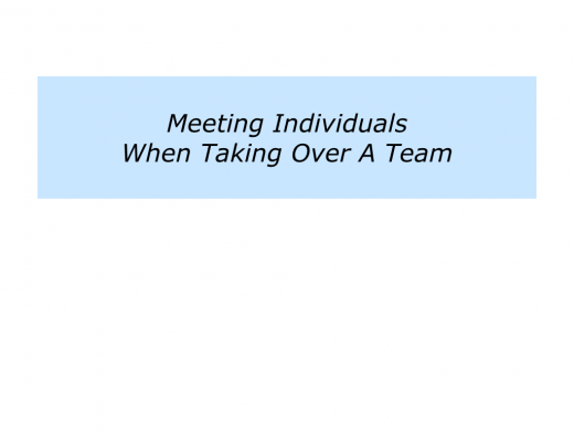 Slides Meeting Individuals When Taking Over A Team.031