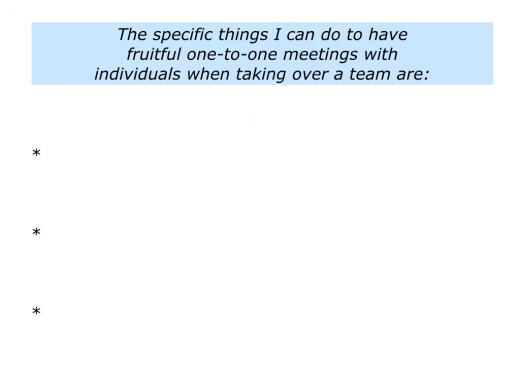 Slides Meeting Individuals When Taking Over A Team.032