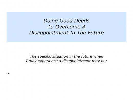 Slides Doing Good Deeds To Overcome A Disappointment.008