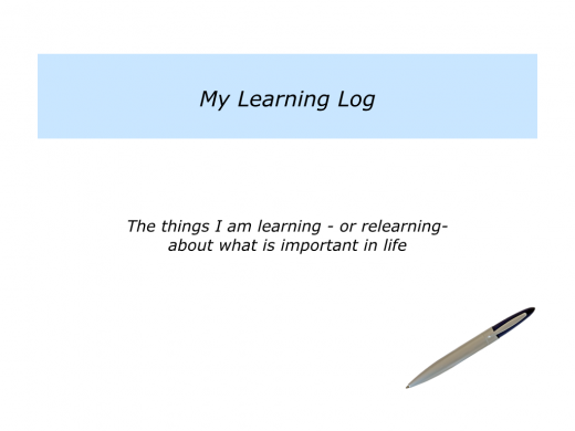 Slides Logging What Is Important In Life.002