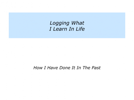 Slides Logging What Is Important In Life.005