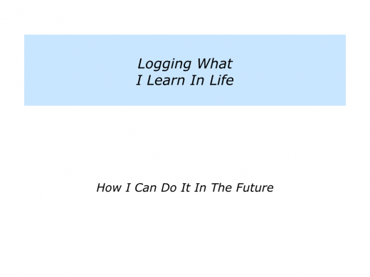 Slides Logging What Is Important In Life.008