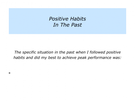 Slides positive habits.002