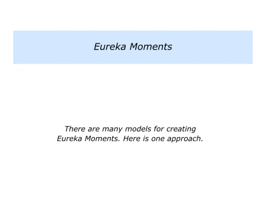 E is for Eureka Moments.005