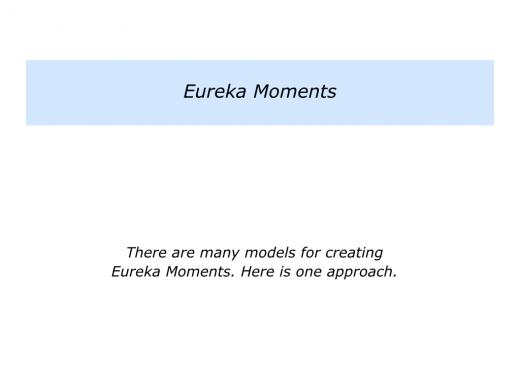E is for Eureka Moments.005