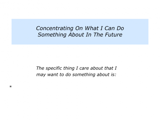 Slides Concentrating On the Things You Care About That You Can Do Something About.006