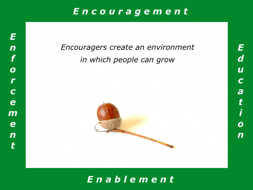 Slides E is for Encouraging Environment.001