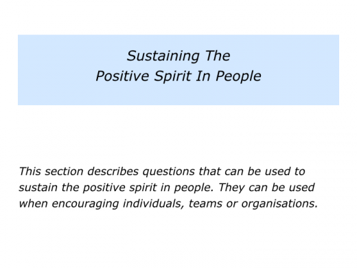 Slides Supporting The Positive Spirit In People.008