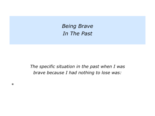 Slides Being Brave Because You Have Nothing To Lose.002