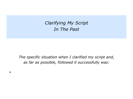 Slides Clarifying Your Script In A Challenging Situation.002