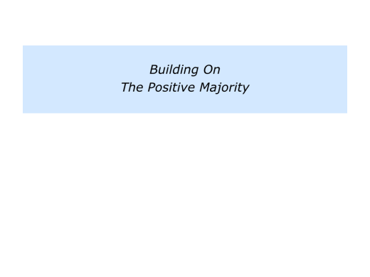Slides The Positive Majority.009