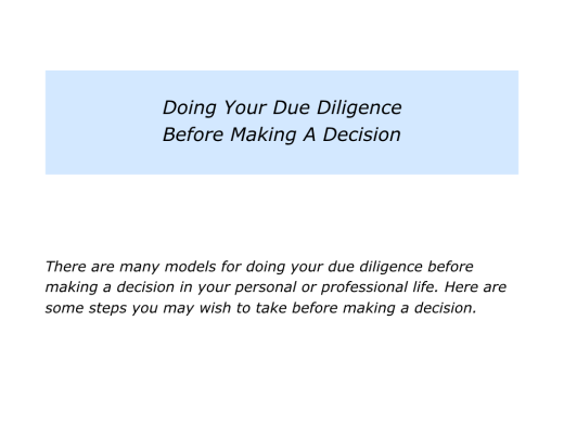 Slides Doing Your Due Diligence.001
