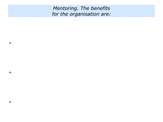 M is for Mentoring Programme In Your Organisation.003
