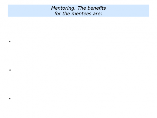 M is for Mentoring Programme In Your Organisation.004