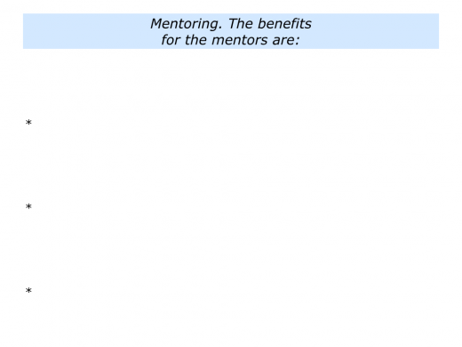 M is for Mentoring Programme In Your Organisation.005
