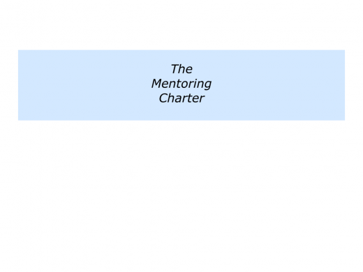 M is for Mentoring Programme In Your Organisation.007