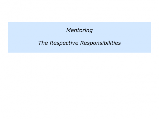 M is for Mentoring Programme In Your Organisation.010