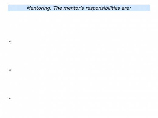 M is for Mentoring Programme In Your Organisation.011