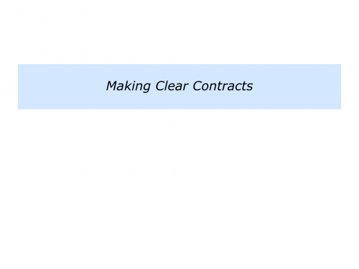 Slides Clear Contracting To Improve Professional Relationships.012