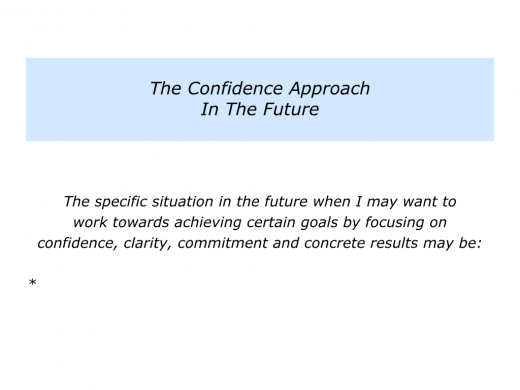 Slides Confidence Approach To Getting Concrete Results.006