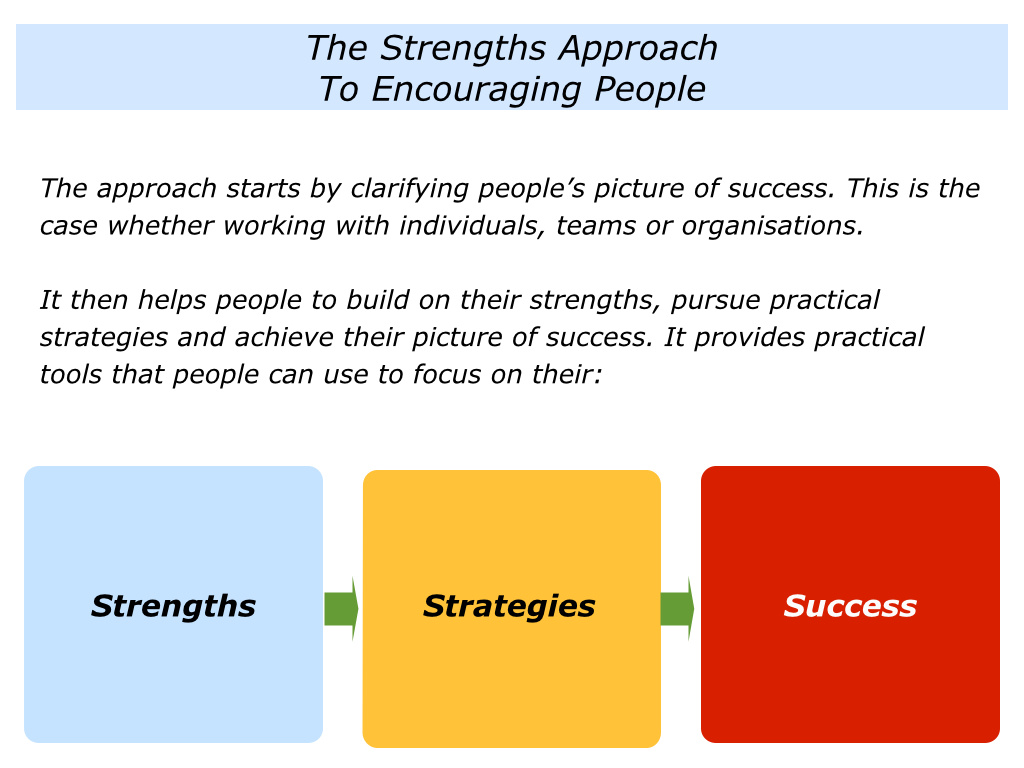 the positive encourager the strengths approach 002