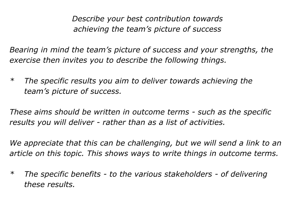 s is for the super teams approach the positive encourager slides super teams approach 030