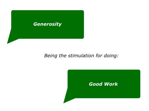 Slides Generosity Being The Stimulation For Doing Good Work.001
