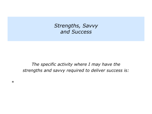 Slides Strengths, Savvy and Success.002